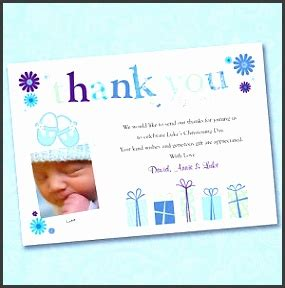 christening thank you card template 9 thank you card template for christening