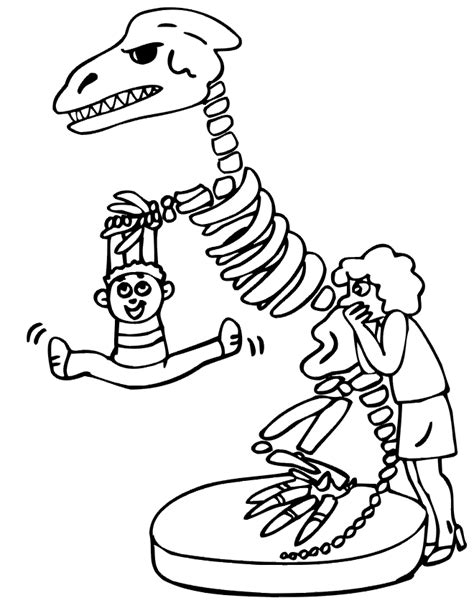 coloring pages of dinosaur bones dinosaur skeleton coloring page coloring home