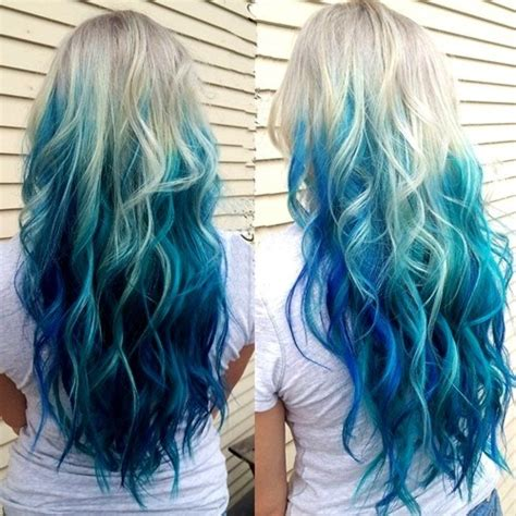 is ombre blue hair ok for older women 20 rainbow hair pictures to join the unicorn tribe