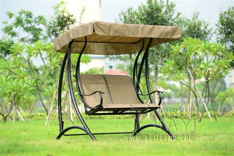 outdoor swing bench with canopy 2 person patio garden swing outdoor hammock hanging chair bench with canopy