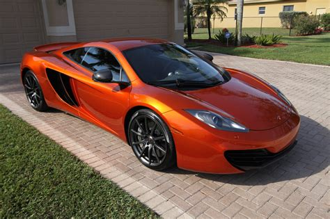 orange mclaren 12c my volcano orange mp4 12c mclaren