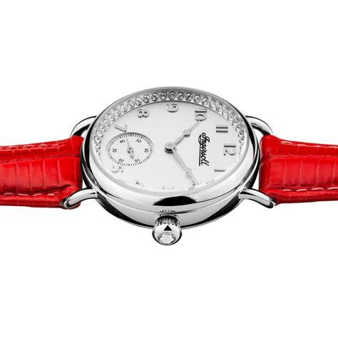Silber Uhr Polieren by Ingersoll I03601 Damenuhr The Trenton Quarzwerk Edelstahl