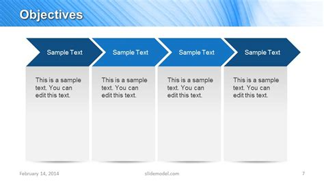 Blue Marketing Plan Template For Powerpoint Slidemodel Marketing Plan Presentation Template