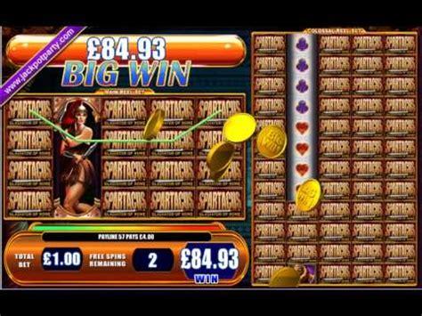 mega big win  spartacus big win slots  jackpot party youtube