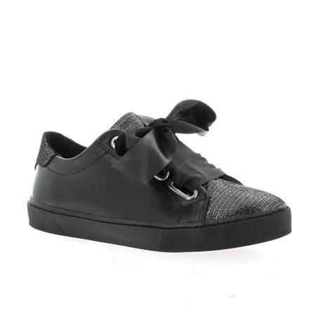 Send Baskets baskets so send chaussures cuir noir 7723romaa17