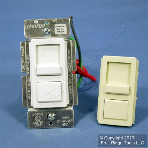 dimmer switch for fluorescent lights leviton white fluorescent light dimmer switch x ebay