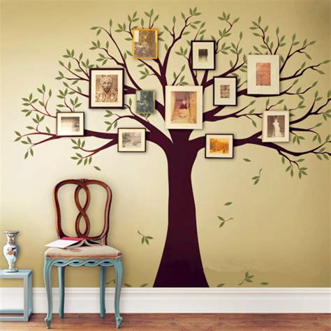 tree home decor family tree wall decal tree wall sticker home decor living