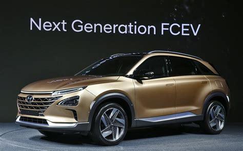 hyundai unveils   generation hydrogen powered suv  car guide