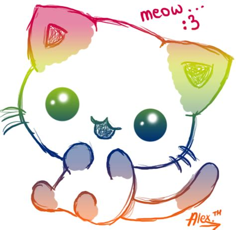 imagenes estilo kawaii kawaii kawaii cat by aleks96 by snowstarofrippleclan on