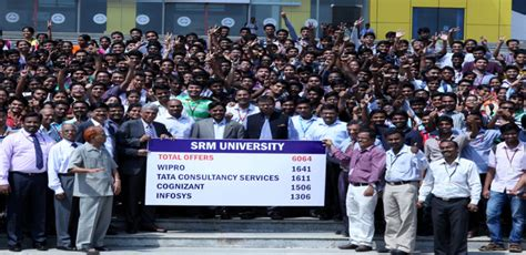 Srm Mba Syllabus 2015 by Record Placements At Srm
