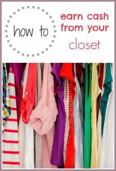 6 to sell your used clothes and make money for more