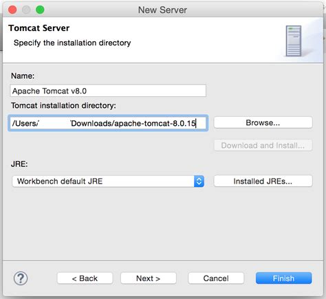 configure xp tomcat download and install apache tomcat for eclipse mistergett