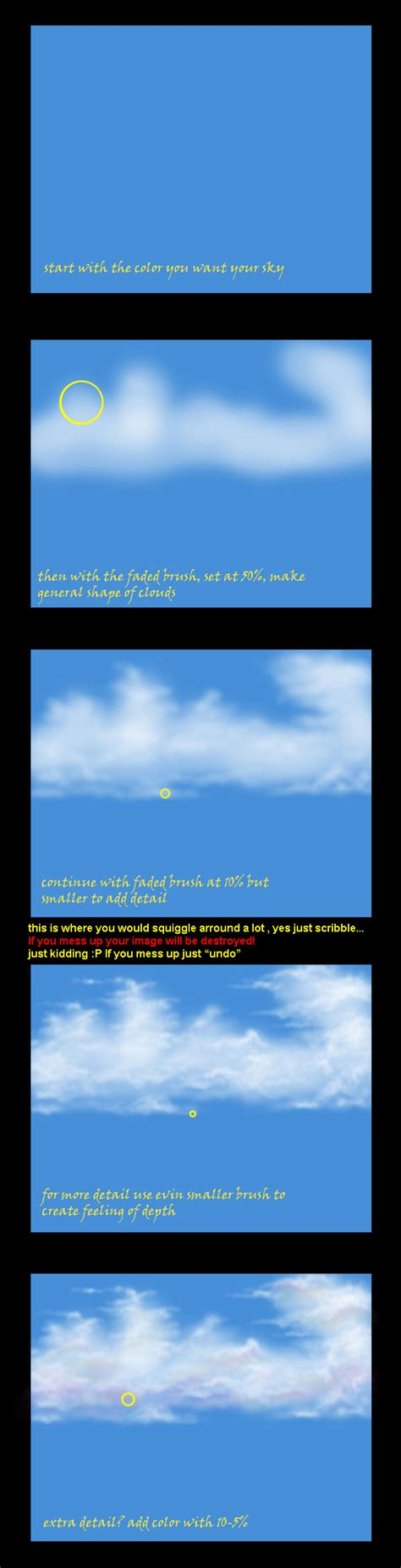 pattern photoshop cloud clouds tutorial for photoshop by kriskenshin on deviantart