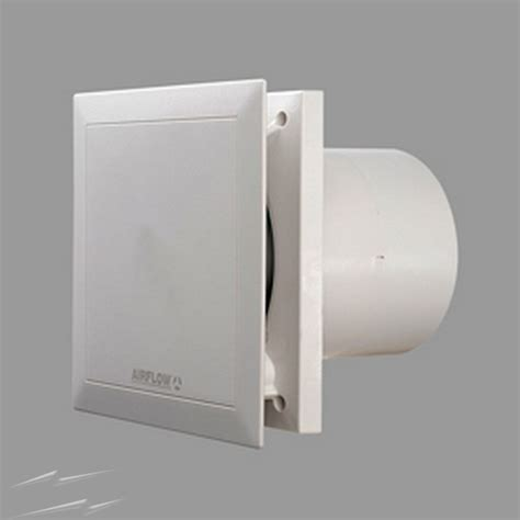 bathroom exhaust fan with humidity sensor qt100ht airflow quietair fan with adjustable humidity
