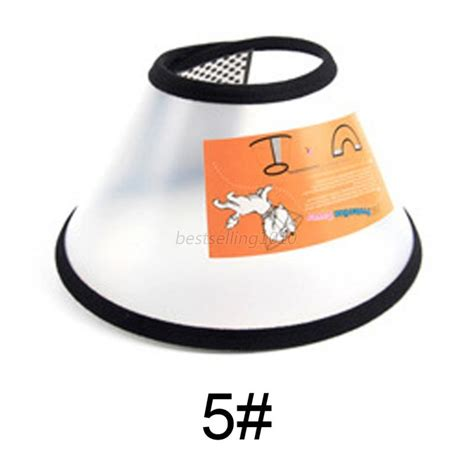 Pet Protection Cover Cone 3 50 Cm cat comfy cone collar pet bathing after surgery anti bite protector cover us ebay
