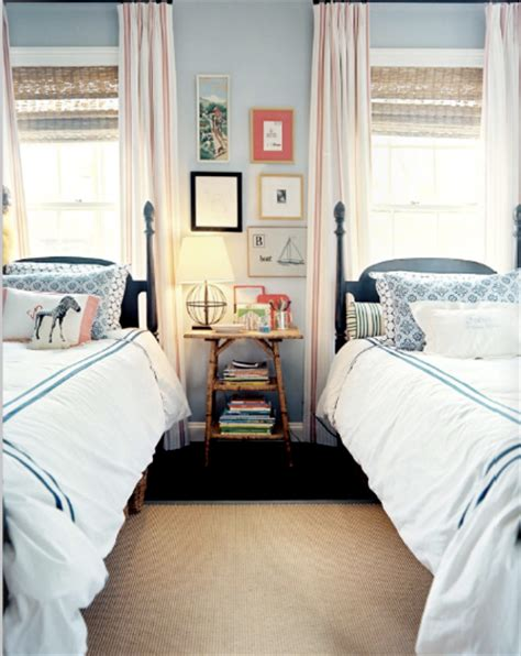 Preppy Room by Seeing Double Beds Frog Hill Designs