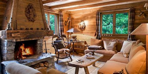 choose rustic interior design theme to stay close to cozy chalets with the most amazing fireplace gathering spaces