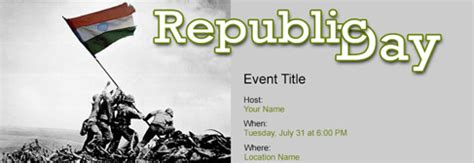 Invitation Letter Format For Republic Day Invitation Format For Republic Day Invite