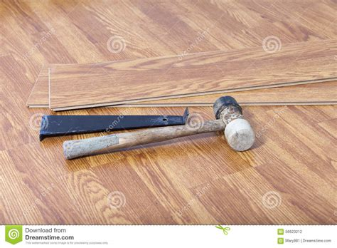 install laminate floating floor stock photo image 56623212