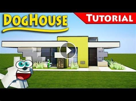 how to build a dog house minecraft the dog house you always wanted 2 minecraft smallest modern house how to build