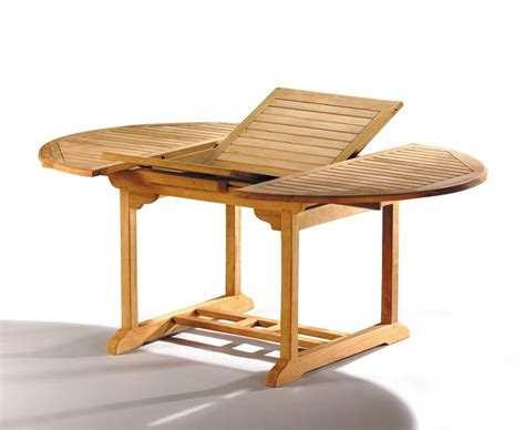 garden tables brompton teak extending garden table 120cm 180cm