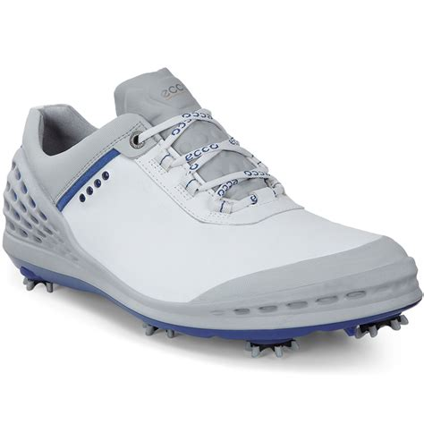 mens spiked shoes ecco 2016 mens cage hydromax leather spiked golf