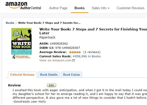 amazon review customer book review