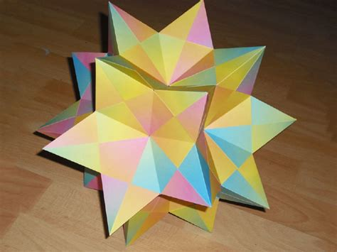 How To Make A Polyhedron Out Of Paper - origami polyhedra 28 images lucas flickr origami