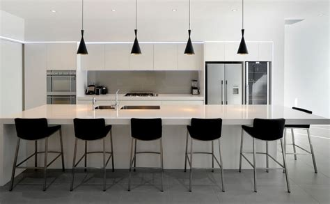 Designer Kitchens Nz Designer Contemporary Kitchen Black And White Neo Design