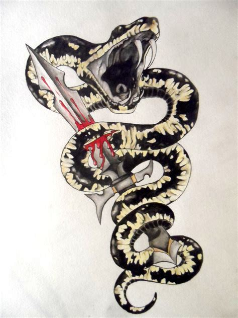 snake tattoo design by zorah777 on deviantart