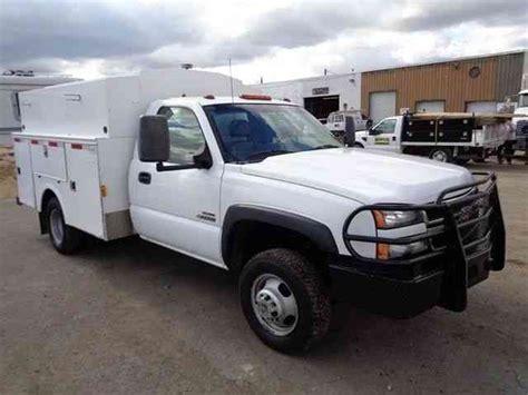 chevrolet 3500 service utility truck duramax diesel 2007