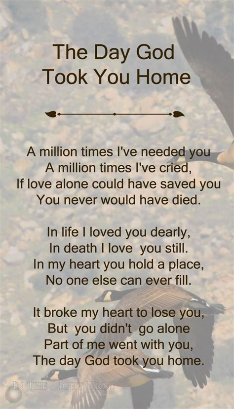 memorial sympathy quotations poems verses