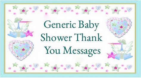 Baby Shower Thank You Messages by Baby Shower Messages Page 2