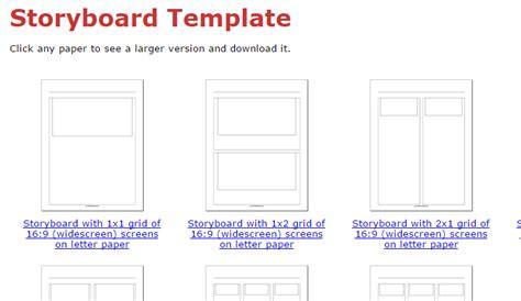 printable paper net storyboard 5 indesign storyboard template af templates
