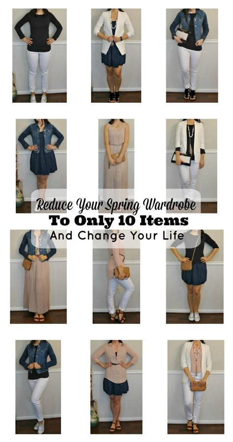 Minimize Your Wardrobe by Reduce Your Wardrobe To Only 10 Items And Change Your