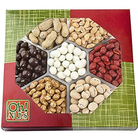 christmas holiday gourmet food baskets nuts gift basket mixed nuts 7 different nuts five star gift baskets gourmet sweet and savory nut gift basket gourmet fruit gifts grocery gourmet food