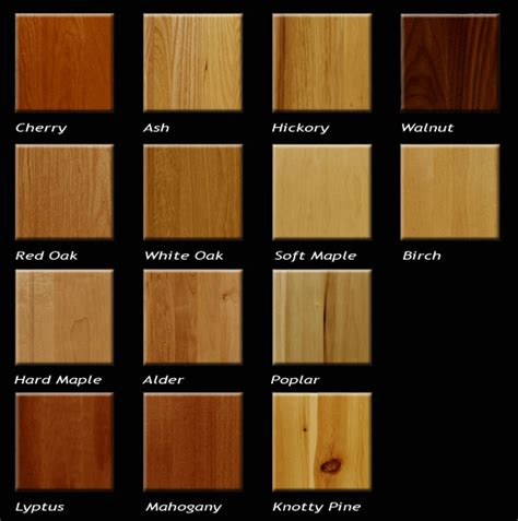 types of wood for kitchen cabinets kitchen cabinets wood types reanimators