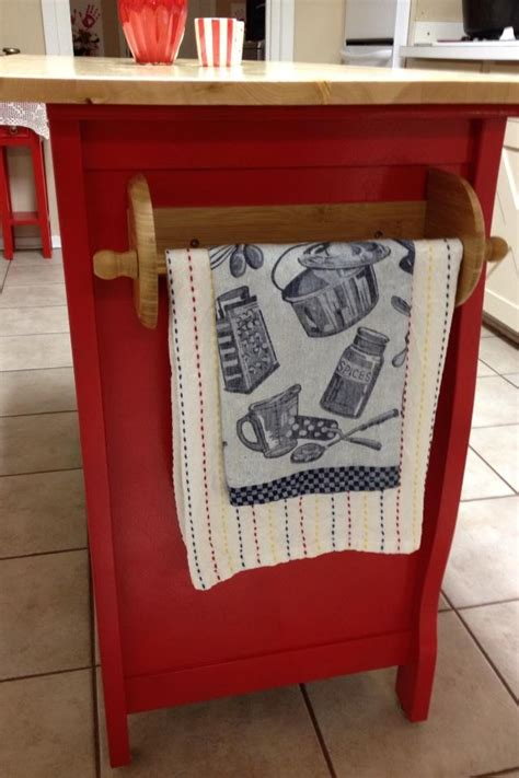 hometalk repurposed baby changing table to kitchen island