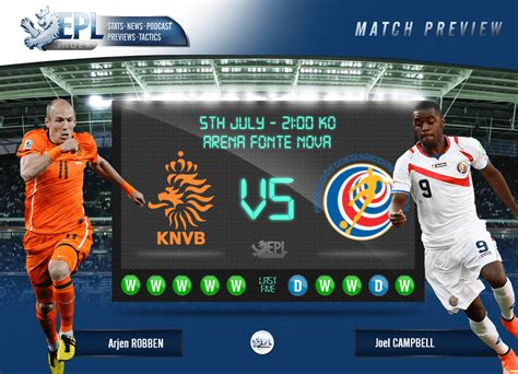 netherlands v costa rica preview fifa world cup 2014