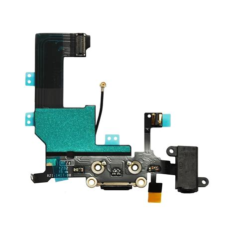 Conector Lcd Iphone 5g Isi 5 charging connector with flex for apple iphone 5g maxbhi