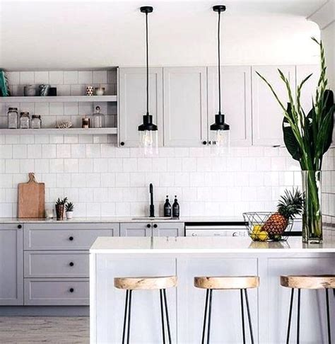 white tile backsplash finding alternatives for subway tile