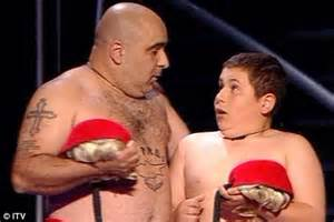 Comedy dance act stavros flatley beat favourite shaheen into second