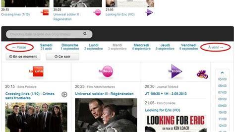 Be In Grille Tv by Revoir Nos Programmes Gratuitement C Est Possible
