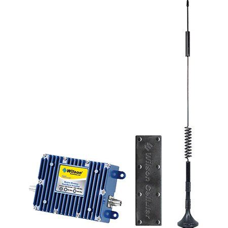 wilson electronics 801212 cellular phone signal booster kit for vehicles with users