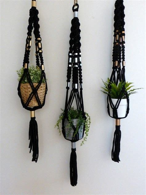 Macrame Plant Hanger How To - 17 best ideas about plant hangers on macrame