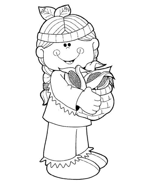 thanksgiving coloring pages indian native american thanksgiving coloring page coloring home