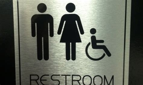 Modern Bathroom Signs Image Gallery Restroom Signs