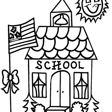 School Coloring Page free for school coloring pages