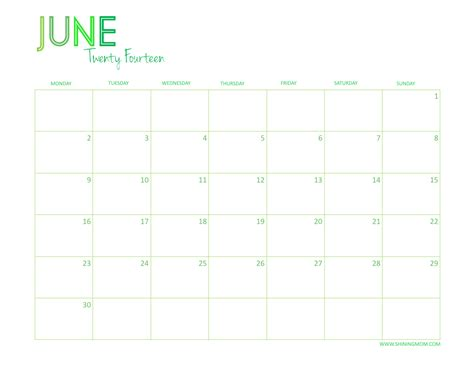 fillable calendar template 2014 june 2014 calendar printable free