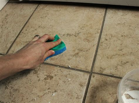 Home Remedies For Cleaning Bathroom Tile Grout by Here S How To Clean Grout With This Grout Cleaner